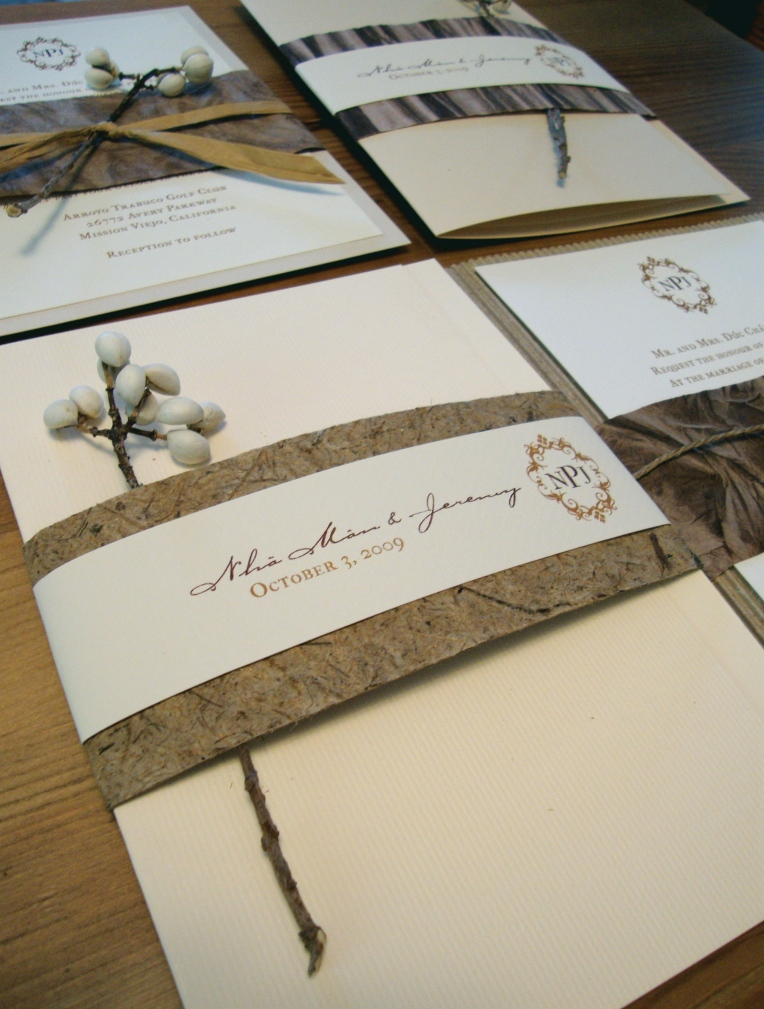 sample custom invitations