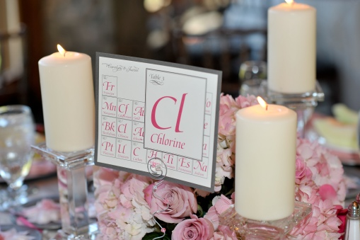 reception stationery / periodic table cards