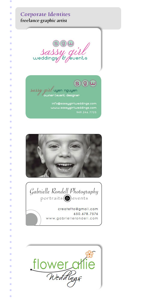 corporate Identity logos/business cards