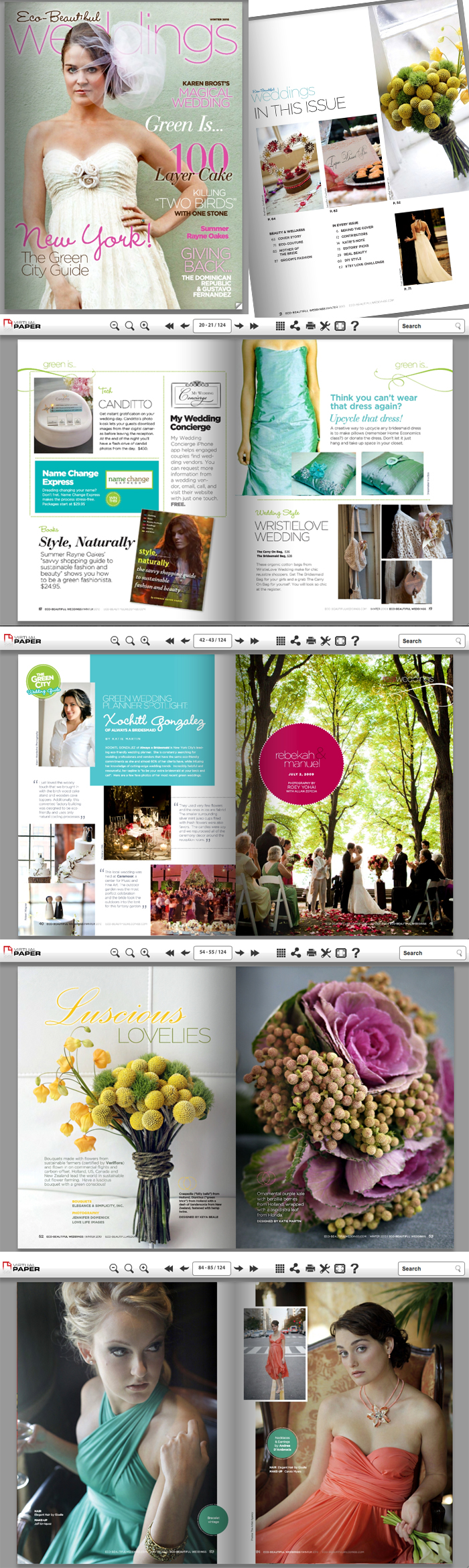 Eco Weddings Ezine