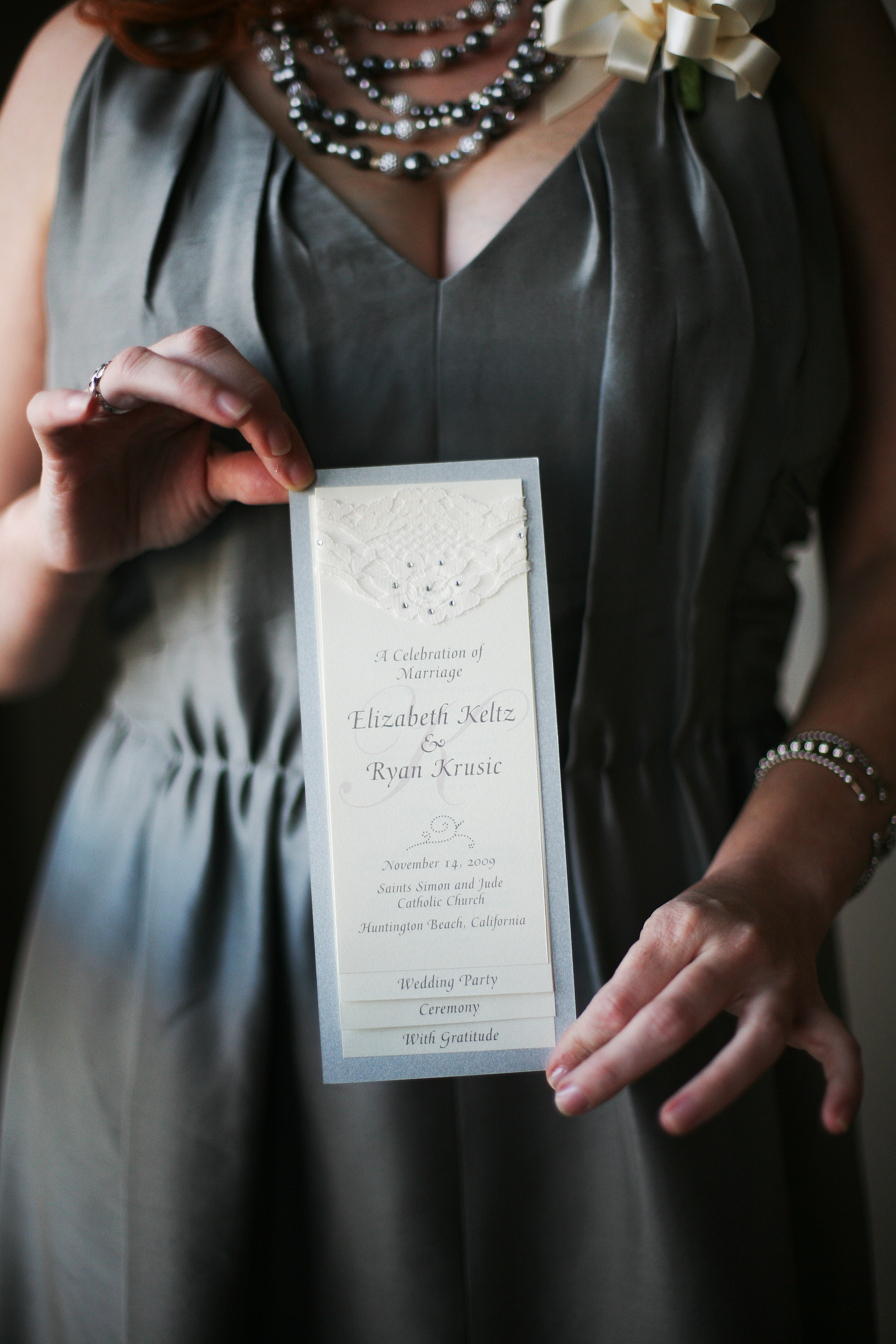 Wedding Invitation Package with awesome invitation design