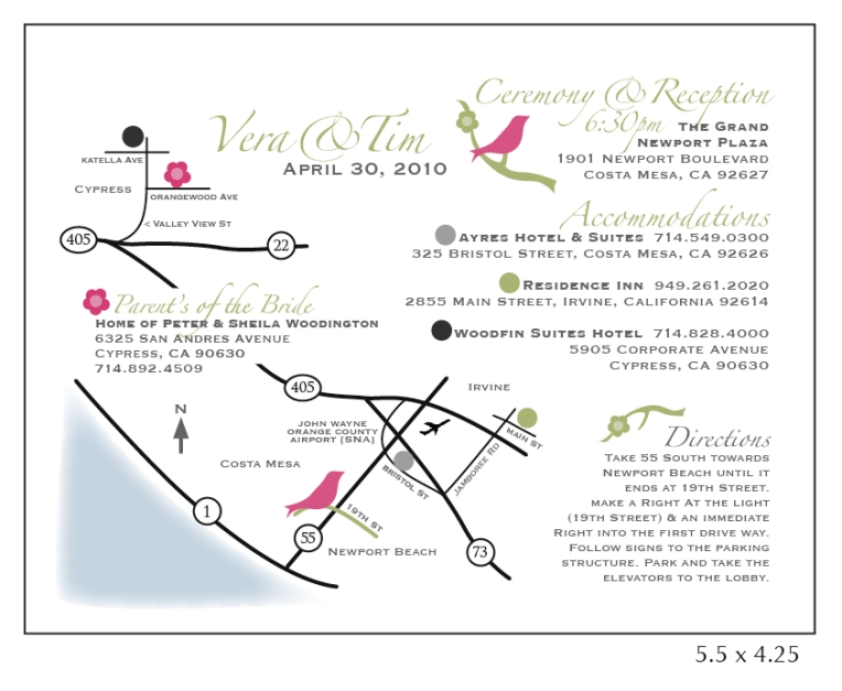 wedding map PDF