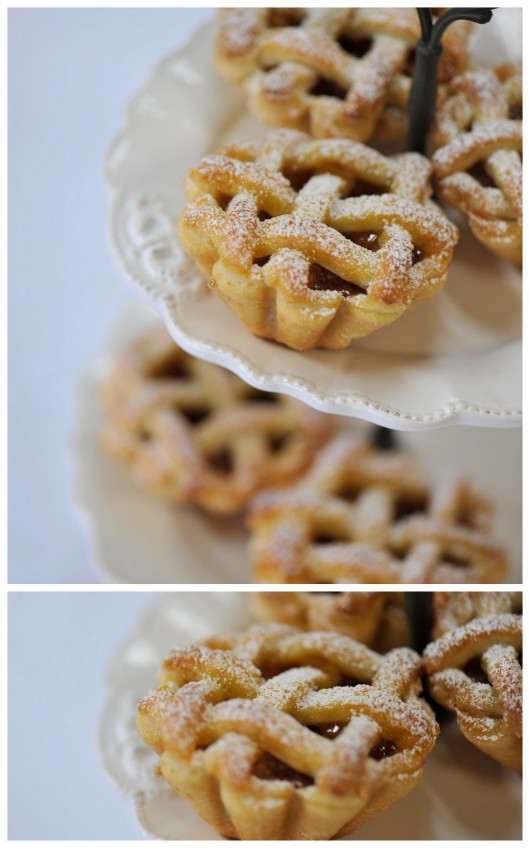 wedding mini pies