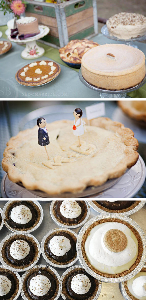wedding pie bar