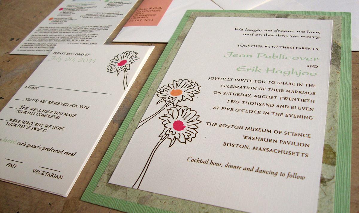 wedding map papercake designs