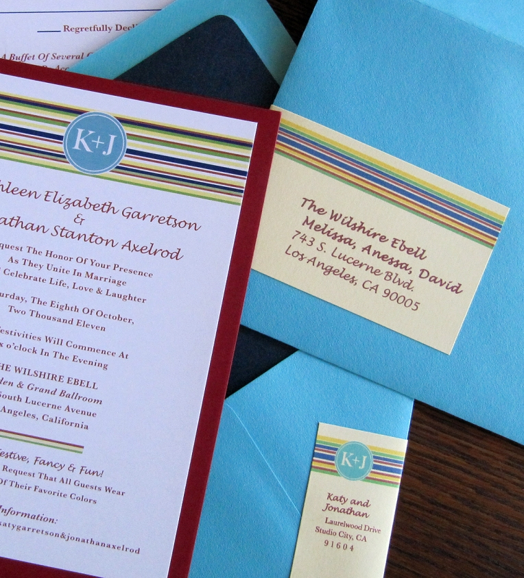 guest & return address labels