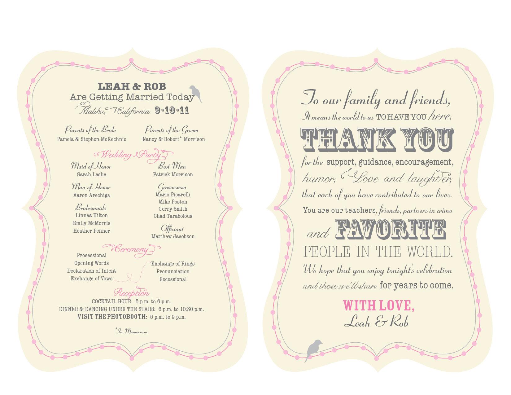 Wedding programs on pinterest fan programs program fans and weddin for Fan wedding program template