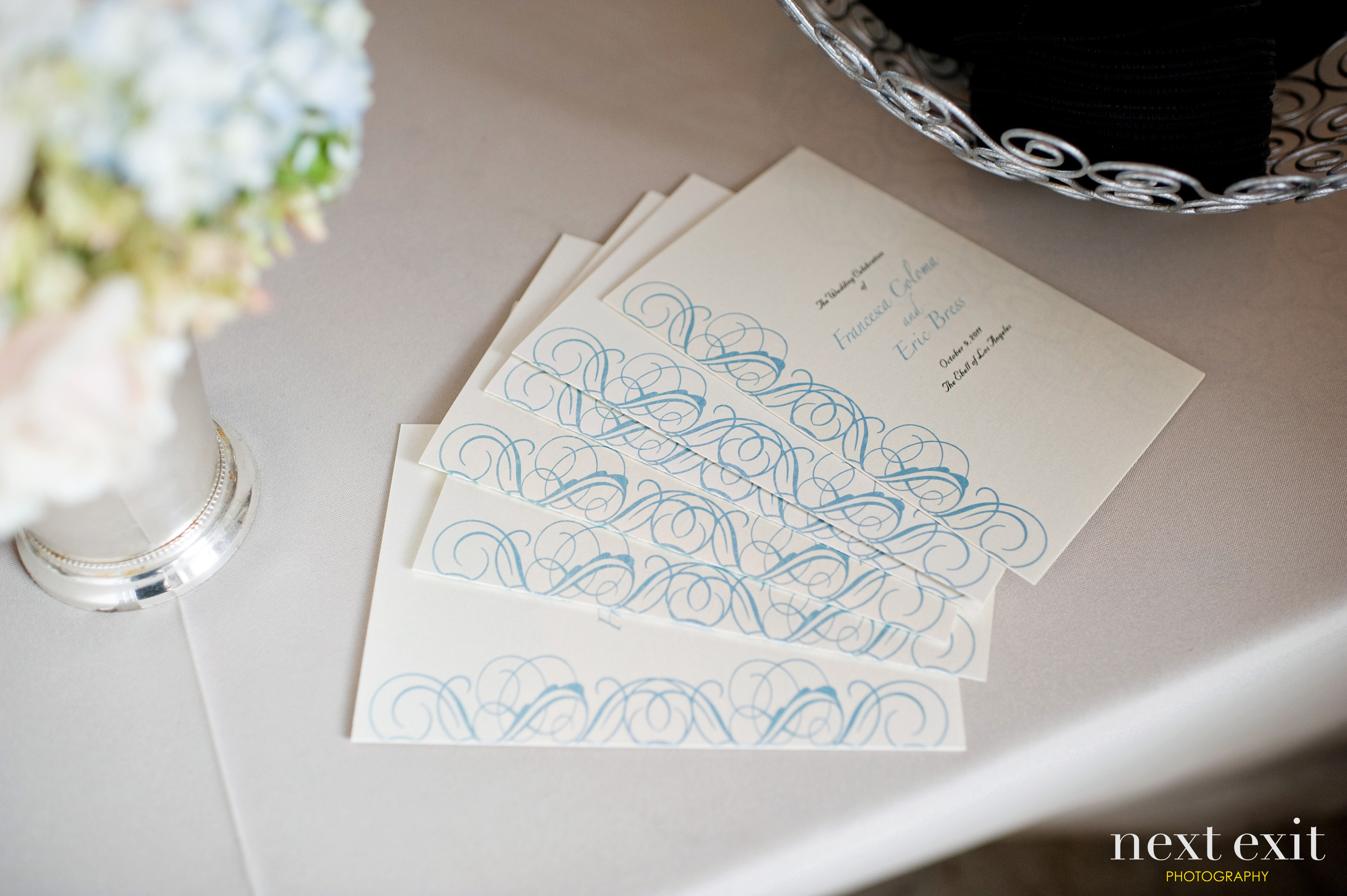 real wedding] francesca + eric at the ebell of los angeles ...