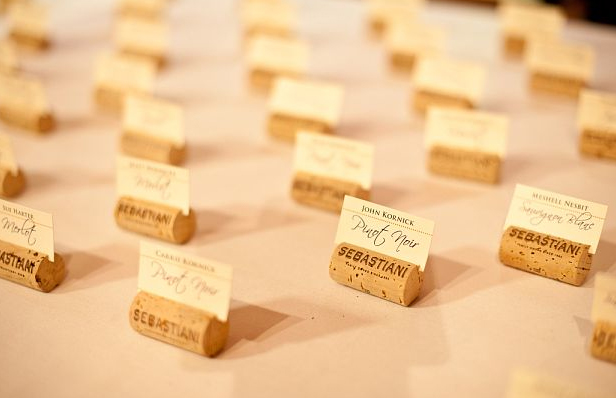 escort place card papercake designs