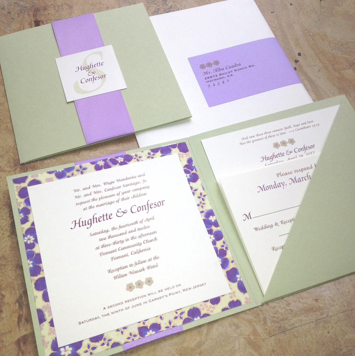 small scroll wedding invitations - 28 images - islamic wedding card ...