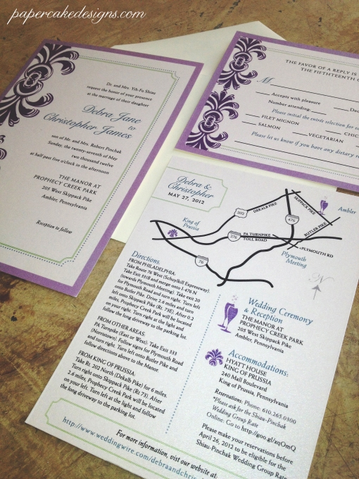 wedding invitations custom digital PDF