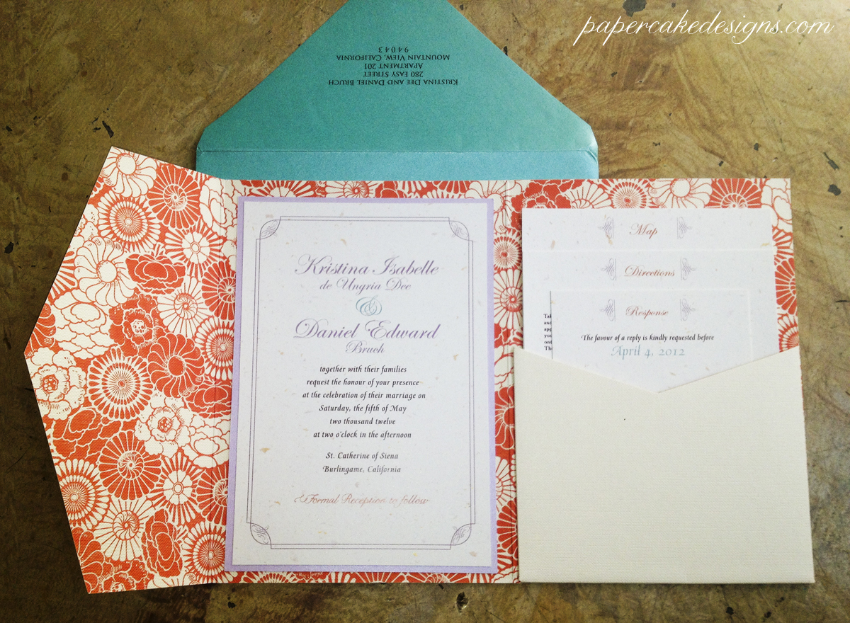 Wedding Invitations With Pockets Folders as adorable invitations sample