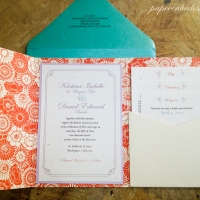 [DIY print & assemble] wedding invitations