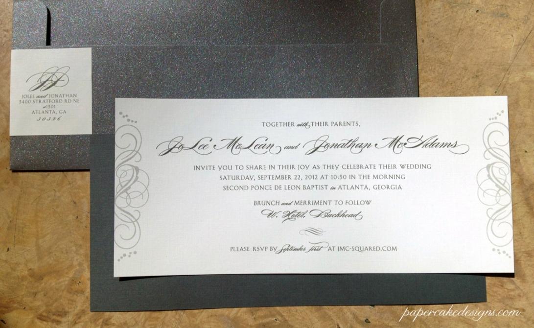 Jolee invitations