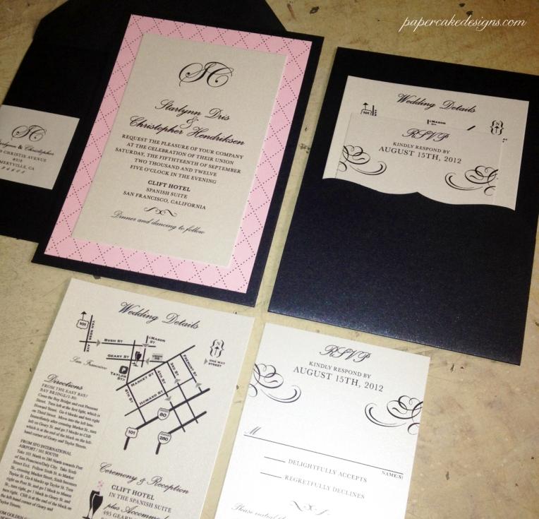 starlynn wedding invitations