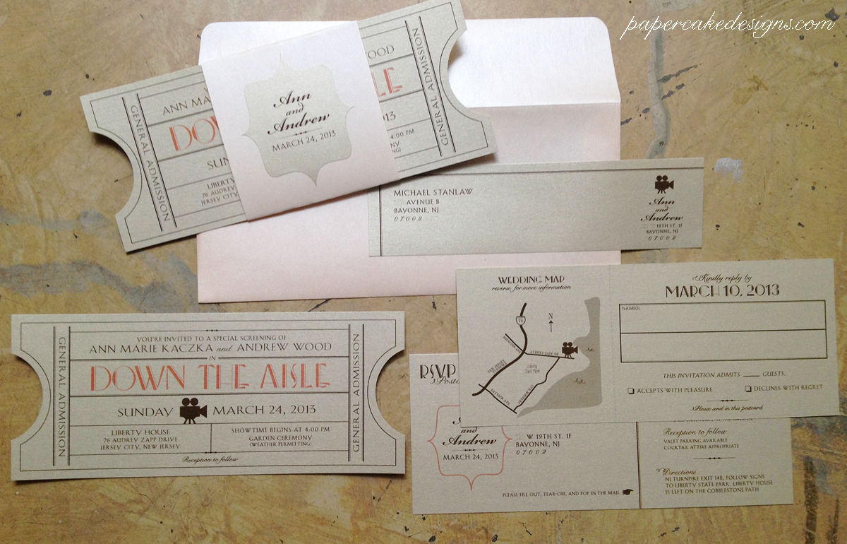 Vintage Tickets: Cinema / Ballroom / Music – papercake designs