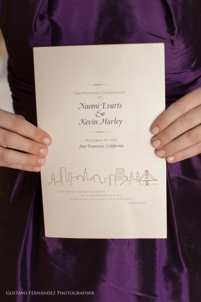 2012.10.20 Naomi Evarts & Kevin Hurley Wedding Contract