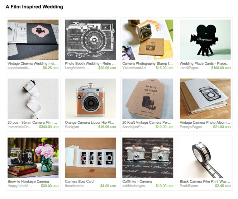 FILM wedding treasury