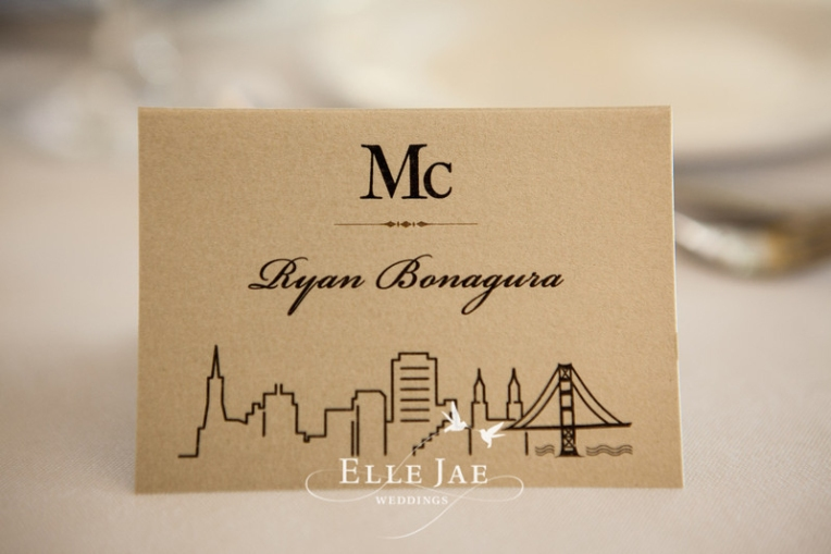 Place card tent