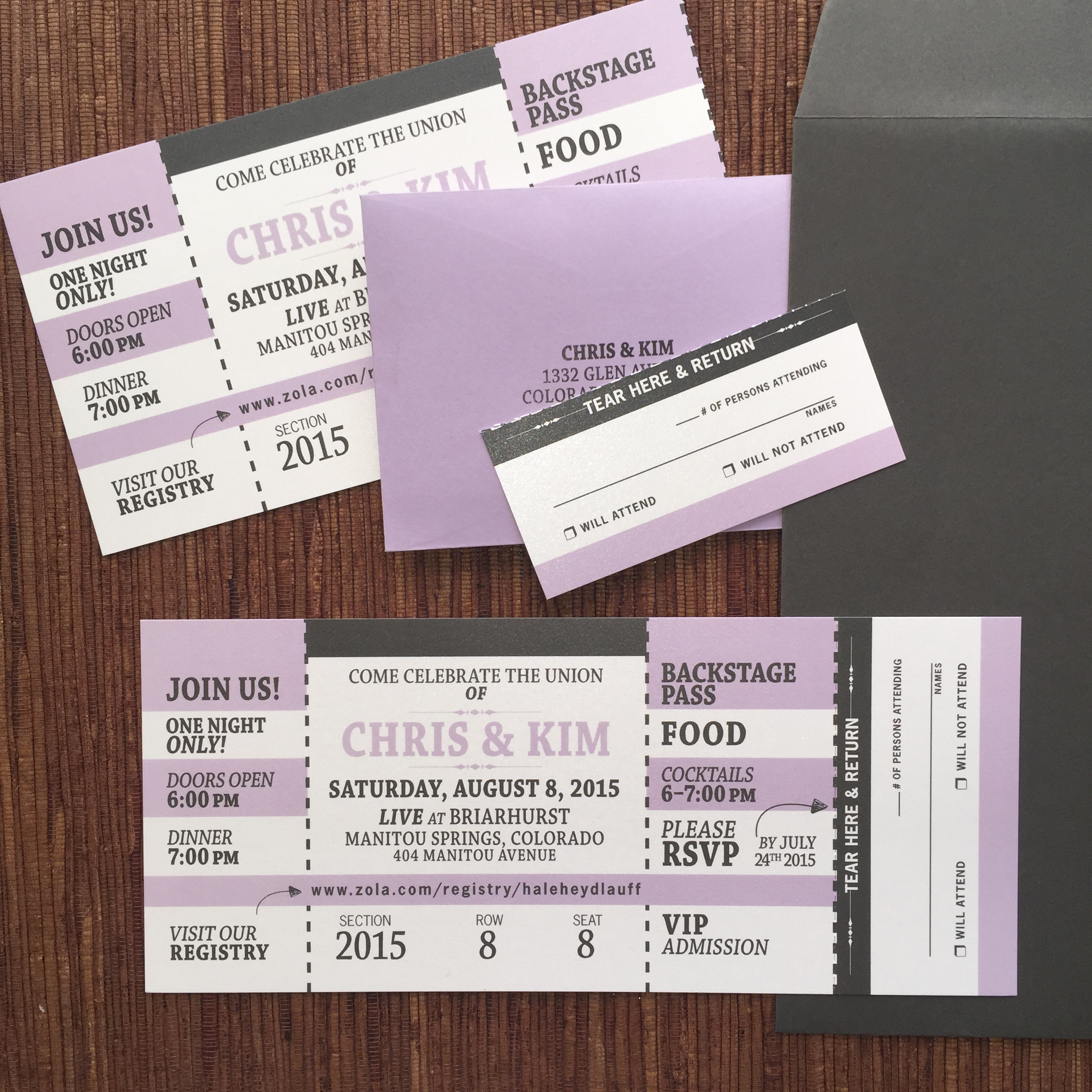 tickets sport concert travel papercake designs