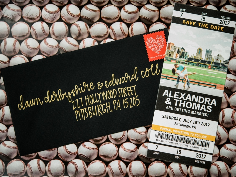 custom save the date tickets