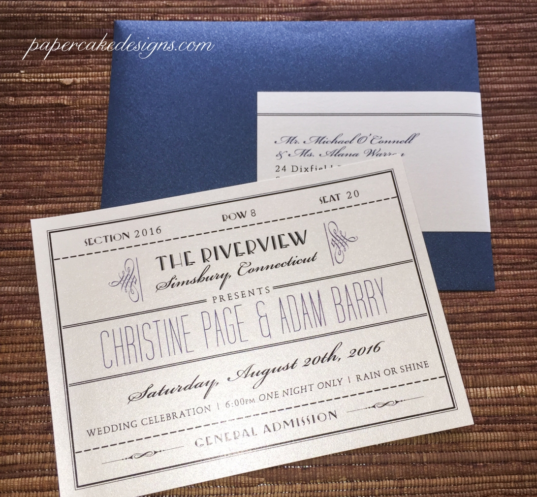 vintage style wedding cards