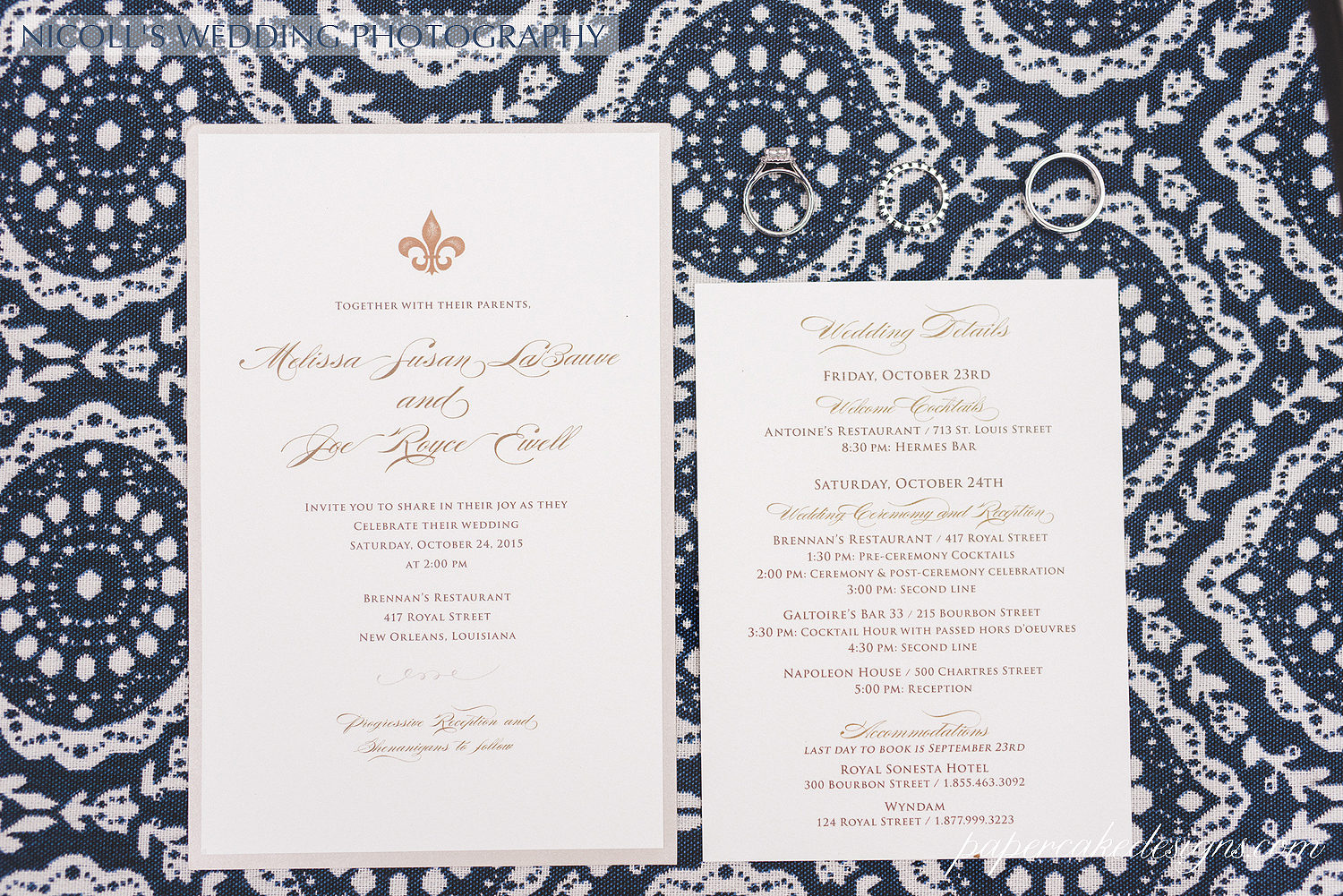 ... New Orleans Wedding Invitation
