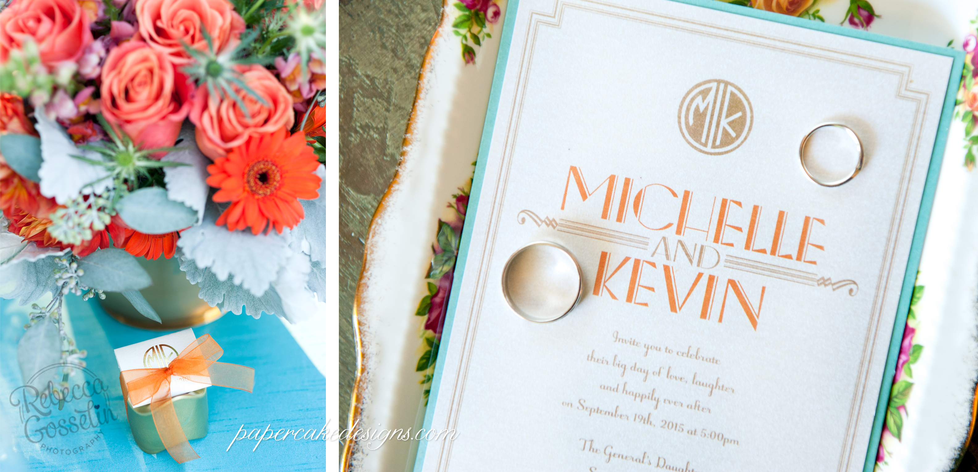 Real Wedding] A Colorful Great Gatsby Inspired Event – papercake designs