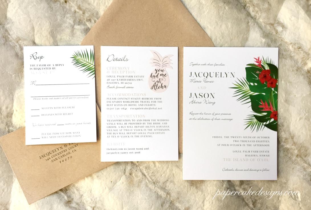 Hawaii-Floral-Invites