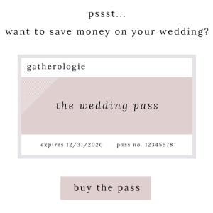 the wedding pass