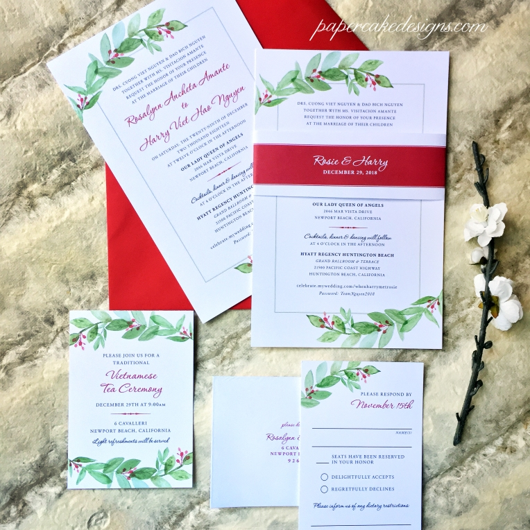 Greenery-Bilingual-Invite-Suite