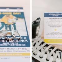 [real weddings] A Hockey Themed Wedding Event
